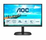 AOC-B2-24B2XHM2-computer-monitor-605-cm-(23.8)-1920-x-1080-Pixels-Full-HD-LCD-Zwart