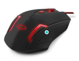 Esperanza-Gaming-Mouse-MX205-Fighter-Black-Red