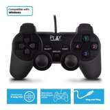 Play-PL3330 game control Gamepad PC Zwart_