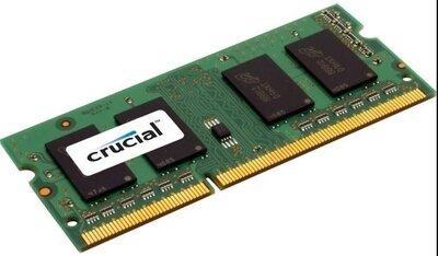 *Crucial 8 GB DDR3L-1600, SO-DIMM Werkgeheugen (laptop) OP=OP