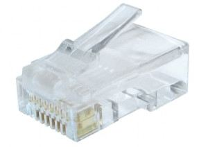*Cat6 UTP lan connector 8-pins RJ-45
