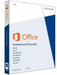 Microsoft Office Professional Plus 2013 oem NL (Dig.lic geen Media)