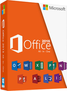 Microsoft Office Professional 2016 oem NL (Dig.lic geen Media)