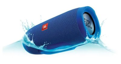 *JBL charge 3 - Draagbare Bluetooth luidspreker (blauw)