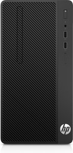 HP 290 G1 3.9GHz i3-7100 Micro Tower Zevende generatie Intel® Core™ i3 Zwart PC