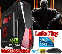SPARTAN-GAME-Intel-i7-8GB-GTX1050-2GB-SSD240-SATA-1TB-WIN10